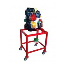 Dizel Motor Kesiti